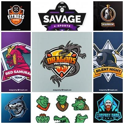 21 Contoh Bahan Mentahan Logo Esport Polosan Hd Siap Edit Kanalmu