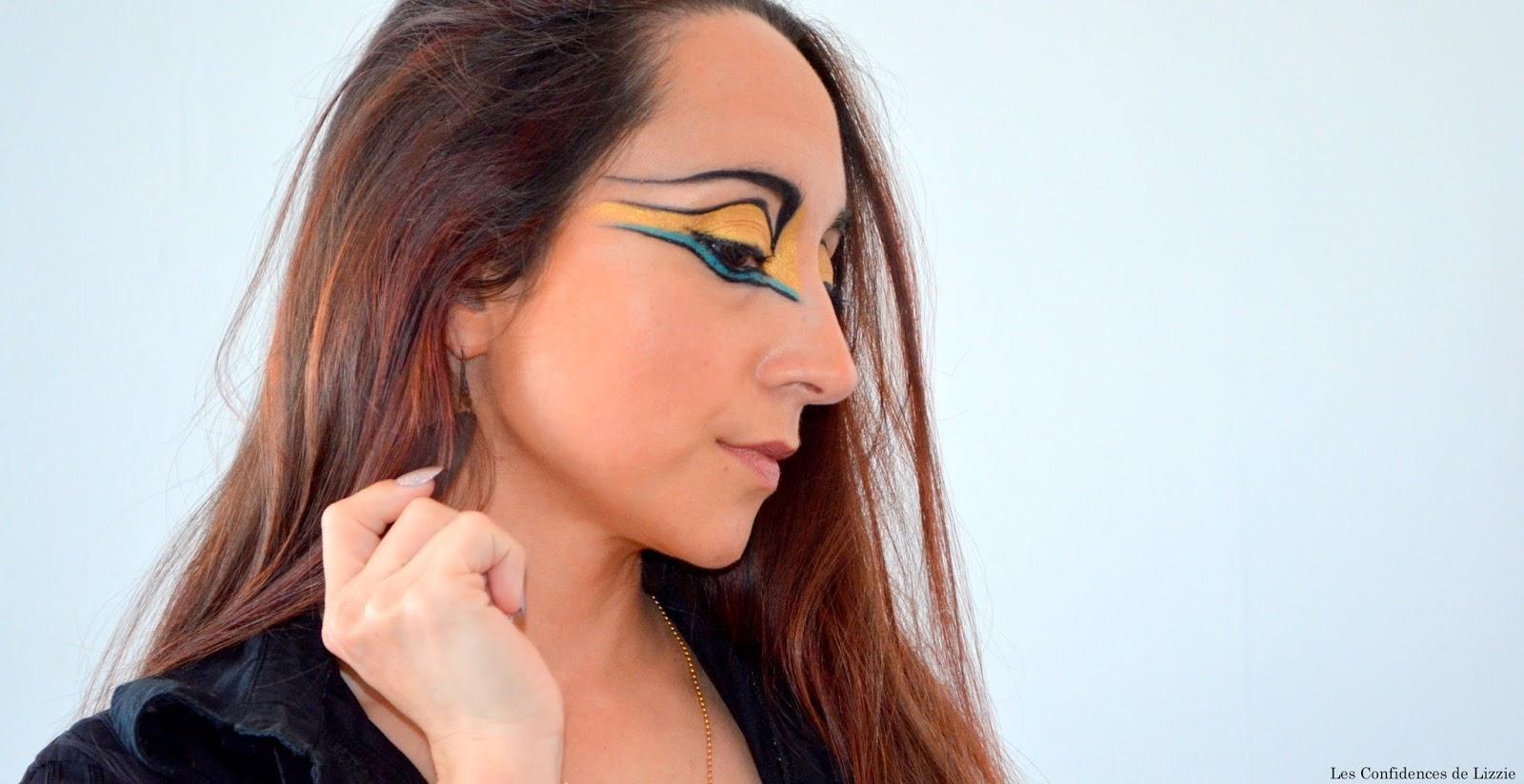 maquillage creatif - maquillage adulte disney - disney - maquillage indienne - maquillage indienne d'amerique