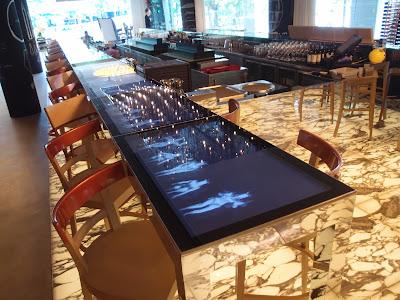 Beast & Butterflies bar area