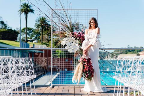 WEDDING CEREMONY AND RECEPTION STYLING AND DESIGN  FLORALS SYDNEY