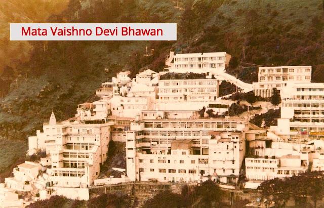 trikuta parvat bhawan, trikuta hills mata vaishno devi bhawan, trikuta hills temple