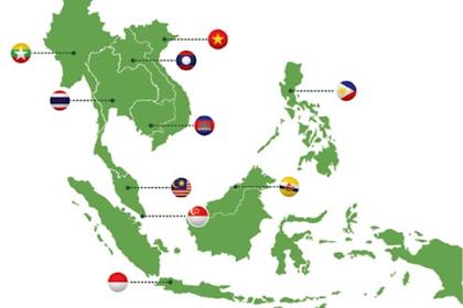 Kondisi Geografis 10 Negara Yang Tergabung Dalam ASEAN