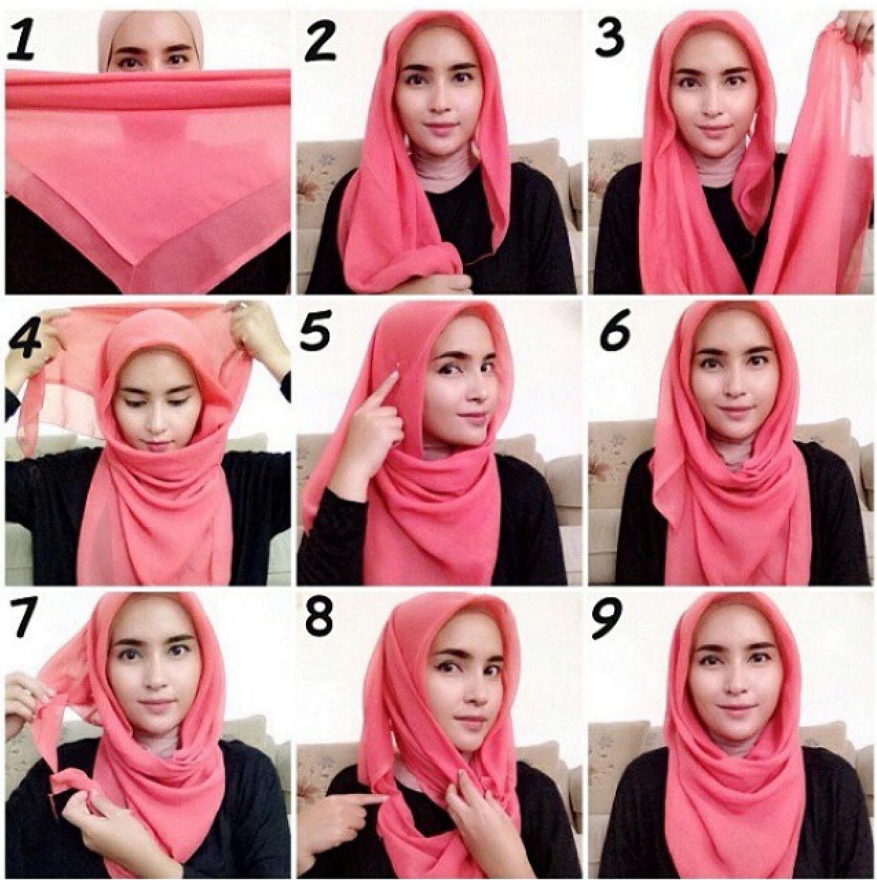 Tutorial Hijab Terbaru 2016 Segi Empat Dan Hijab Pashmina Paling