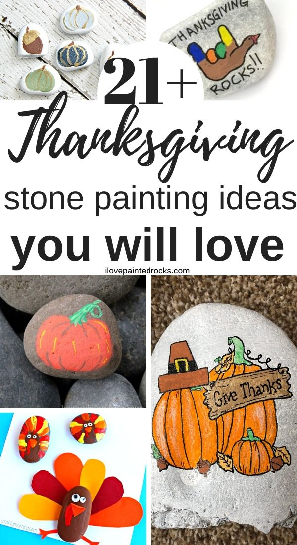 Thanksgiving painted rock ideas, etsy rocks, thanksgiving stone painting