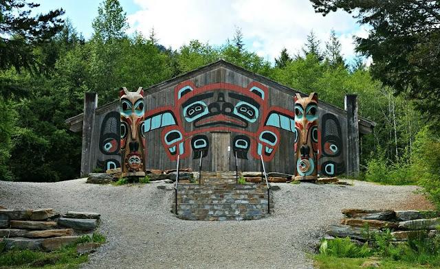Saxman Village Group in Ketchikan, Alaska