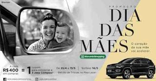 Promoção Shopping Morumbi Dia das Mães 2018 Concorra Três Jeep Compass