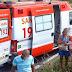 POÇÕES: Criança de 8 anos cai de veículo e morre atropelada pelo pai