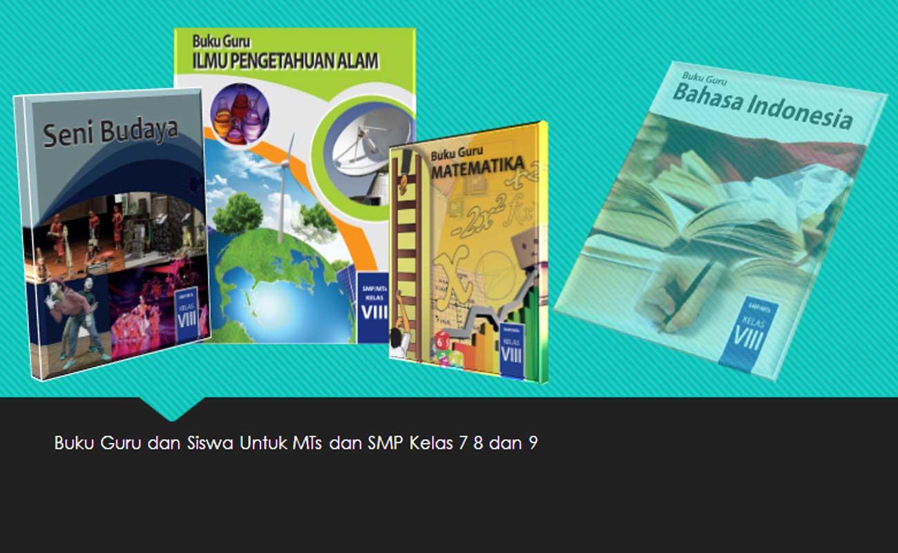 Buku Guru dan Siswa MTs Kelas 7 8 9 Mapel Umum
