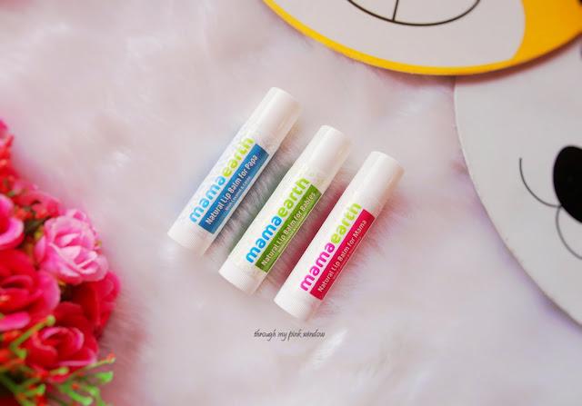 Mamaearth Natural Lip Balms for Baby, Mama and Papa: Review