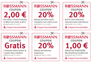 rossmann spar coupons ausdrucken und sparen sparfuchs 39 schn ppchen blog. Black Bedroom Furniture Sets. Home Design Ideas