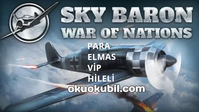 Sky Baron v1.2.0 Ülkeler Arası Savaş, Vip + Para + Elmas Hileli Mod Apk İndir