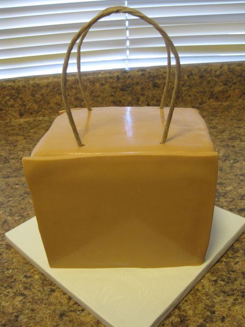 Your Happy Baker Little Brown Bag Birthday Cake