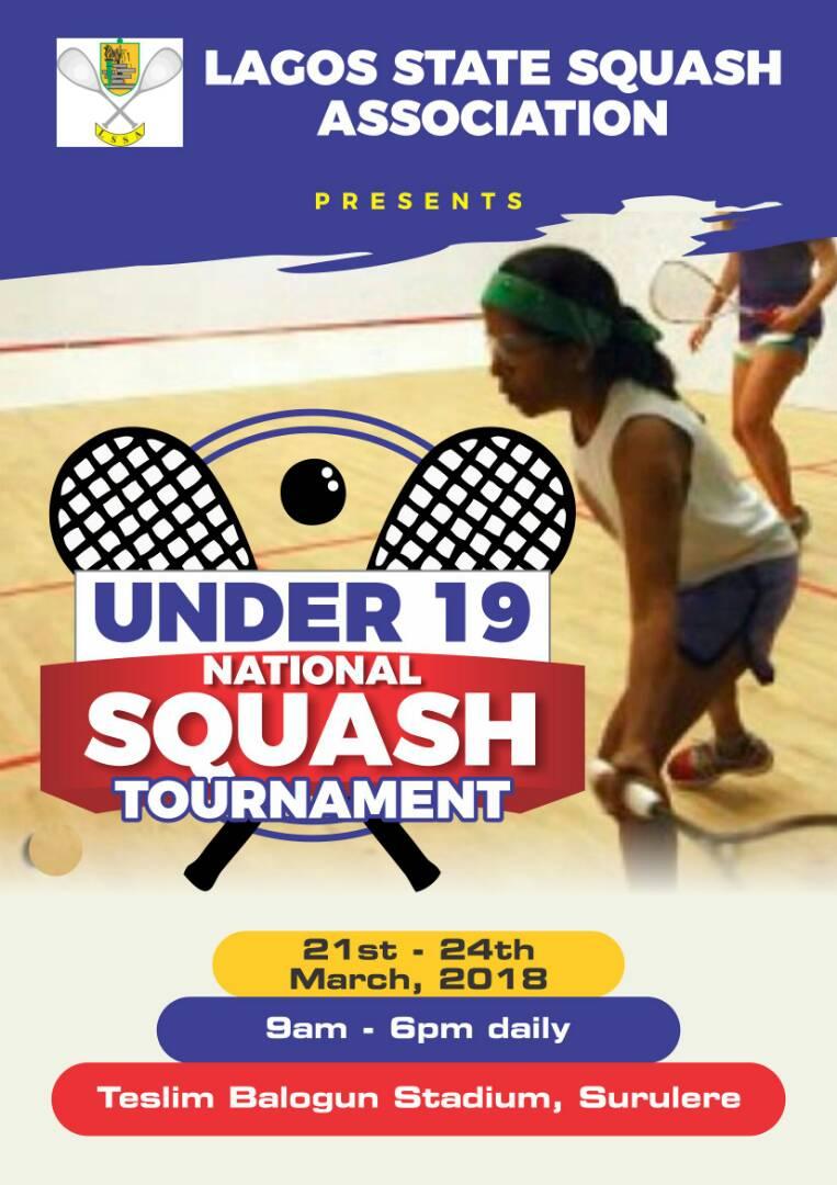 Naija Squash Media Lagos State Squash Association Under 19