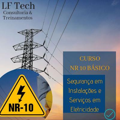 NR 10 Básico - Segurança em Instalações e Serviços em Eletricidade - FORMAÇÃO