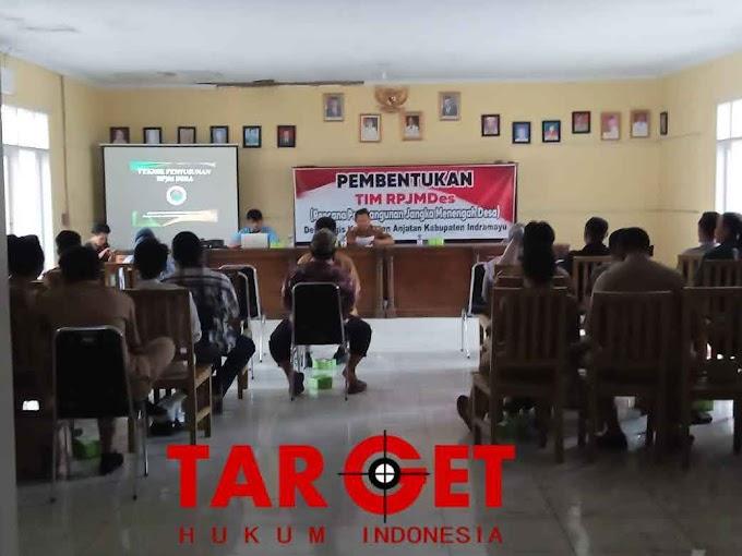 Pendamping Desa dan Kuwu Terpilih Desa Bugis Membentuk TIM RPJMDes (Rencana Pembangunan Jangka Menengah Desa) Anggaran 2022 - 2027