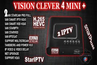 جهاز جديد لشركة +VISION CLEVER 4 MINI