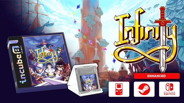 Infinity: jogo inacabado do Game Boy Color será finalizado e lançado para o Switch