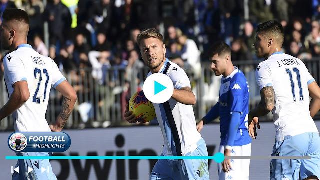 Brescia vs Lazio Highlights