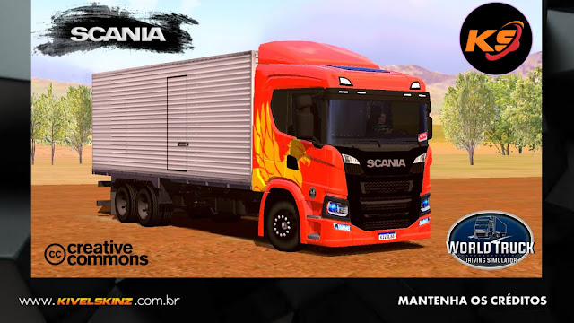 SCANIA P320 - THE FLYING GRIFFIN TIO PATINHAS
