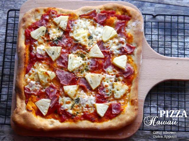 Pizza orkiszowa Hawaii-pyszna - Czytaj więcej »