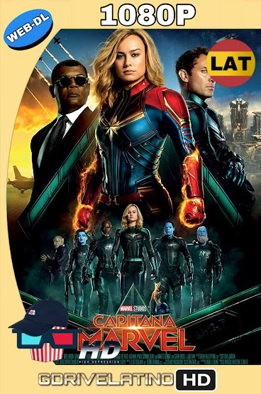 Capitana Marvel (2019) WEB-DL 1080p Latino-Ingles MKV