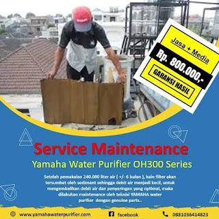 Service maintenance yamaha water purifier OH300