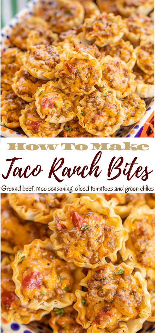 Taco Ranch Bites #healthyrecipe #dinnerhealthy #ketorecipe #diet #salad