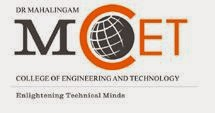 Dr. Mahalingam College of Engineering and Technology-Facultyplus