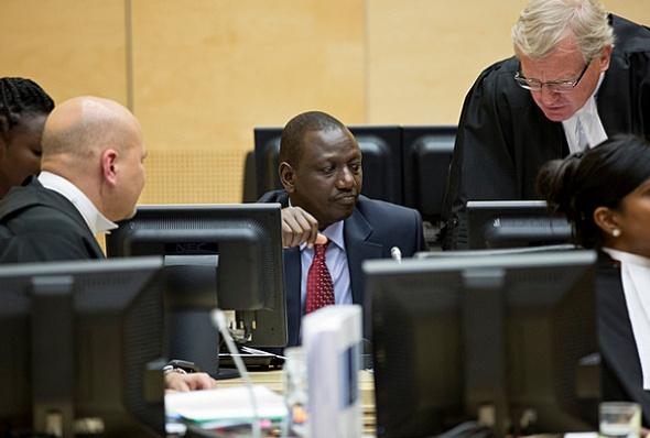Deputy President William Ruto's ICC lead defence lawyer Karim Khan