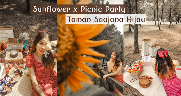 Sunflower x Picnic Party Weekend Outfit at Taman Saujana Hijau, Putrajaya