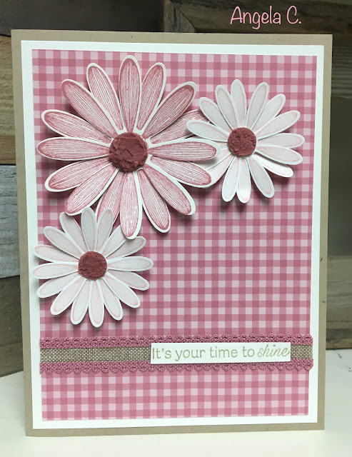 Stampin' Up!, Daisy Lane, Embossing Paste, Re-Inker, Techniques, www.stampingwithsusan.com