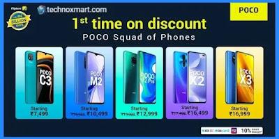 Poco X3, Poco M2 Pro, Poco M2 Is To Receive Price Cut Of Up To Rs.1,000 On Flipkart Big Billion Days Sale