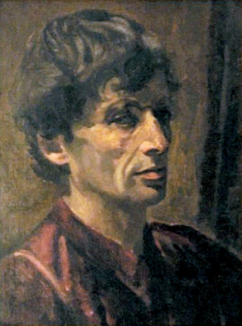 Robert Sivell, Self Portrait, Portraits of Painters, Fine arts, Portraits of painters blog, Paintings of Robert Sivell, Painter Robert