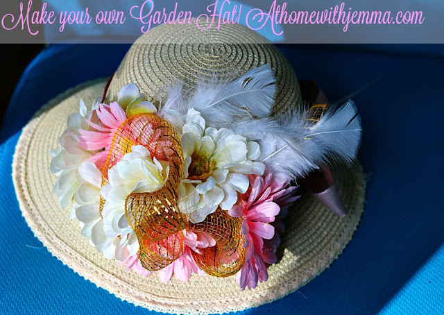 sunbonnet, kentucky, derby, tutorial, diy, easy, feminine, athomewithjemma