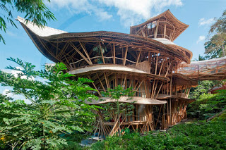 All About Bali Beautiful and gorgeous bamboo home from Bali
