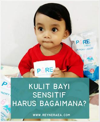 mengatasi kulit bayi yang sensitif