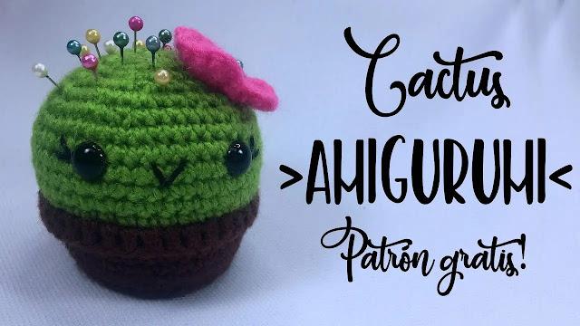 COMO TEJER GRATIS Cactus Amigurumi a Crochet