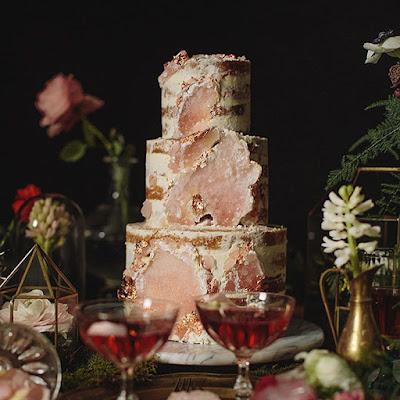 K'Mich Weddings - wedding planning - deconstructed cake