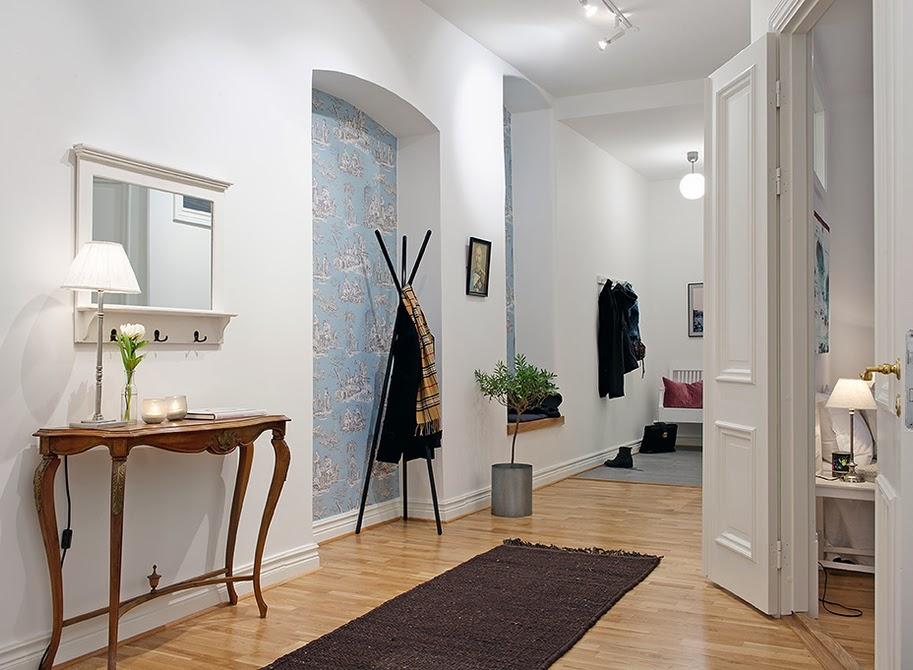 El blog de demarques 10 recibidores de estilo nordico - Decorar casa estilo nordico ...