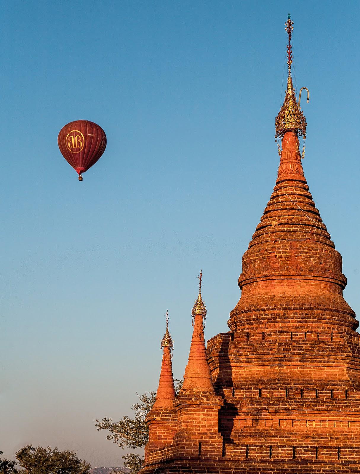 bagan,birma,balony,pagody