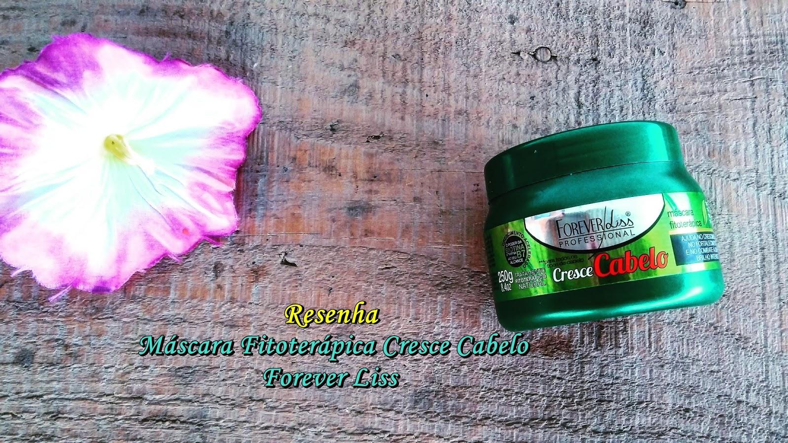 Máscara Fitoterápica Cresce Cabelo - Forever Liss