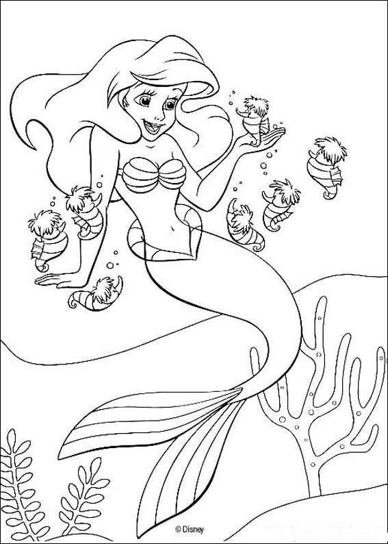 Coloriages Enfants Sirene Dessin Coloriage Sirene A Imprimer Et