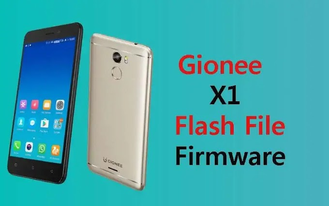 Gionee X1 Tested Flash File (Stock ROM Firmware)