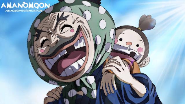 Komik One Piece 942: Ramalah Yasu akan Kehancuran Orochi dan Kaido