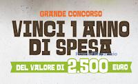 """Concorso """"Scrivi la tua ricetta -Vinci un anno di spesa"""" ( valore 2500 euro) : partecipa gratis"""