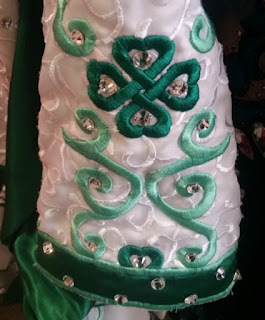 irish dance dress close up 8