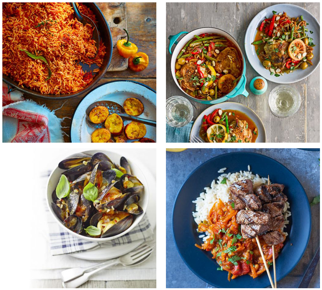 January Spicy food post