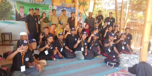 Menghadiri Undangan Sebagai Narasumber Pelatihan SDM dai Desa Tanjung Luar