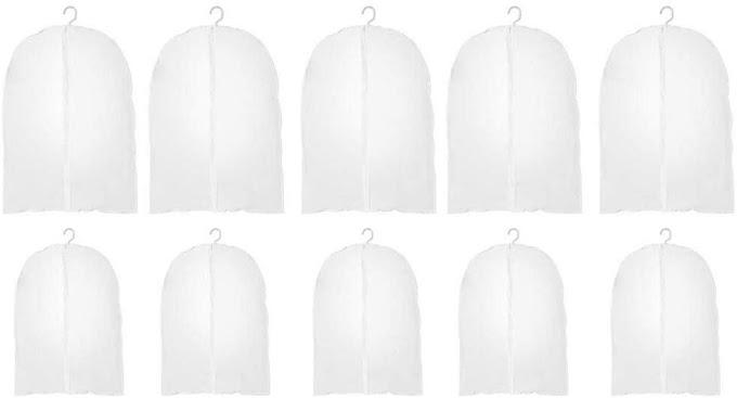 53% OFF  Hanging Garment Bag Suit Long Dress Protector Bags