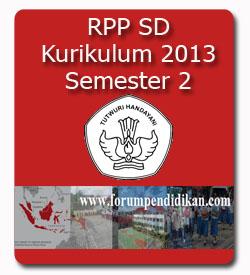 RPP SD Kurikulum 2013 | Semester 2